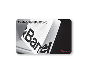 Crate&Barrel Gift Card